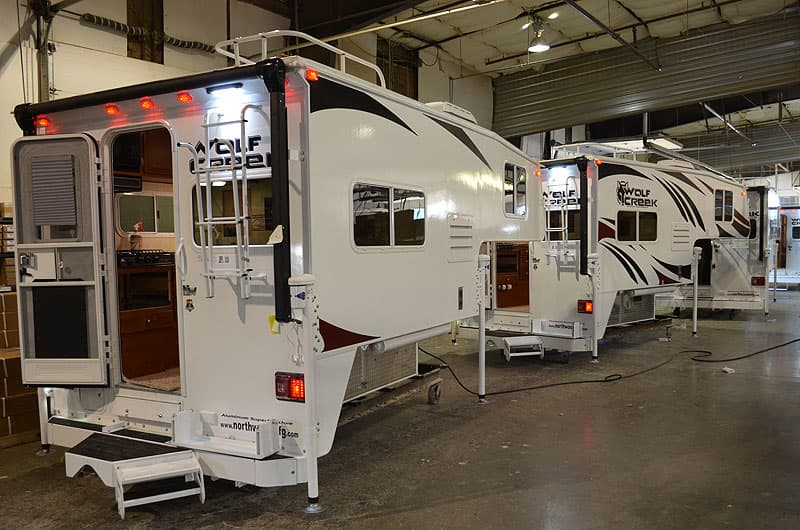 Wolf Creek Camper factory