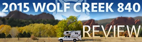 Wolf Creek 840 Camper Review