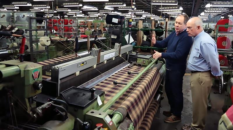 Rob Stuart, Woolrich's Fabric Designer