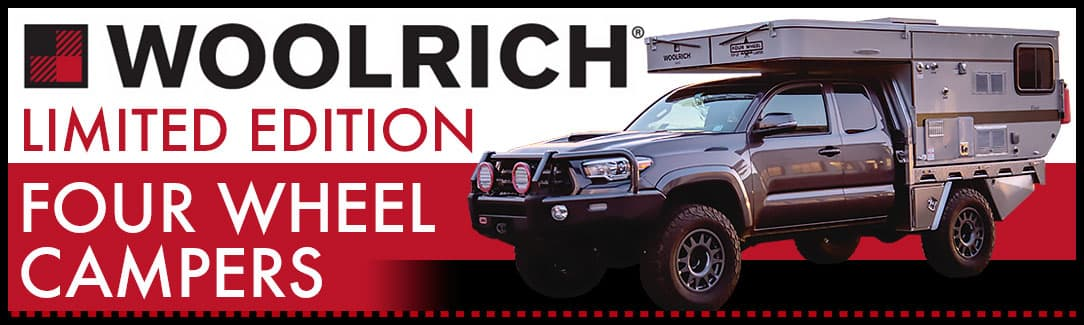 Woolrich Limited Edition Four Wheel Camper