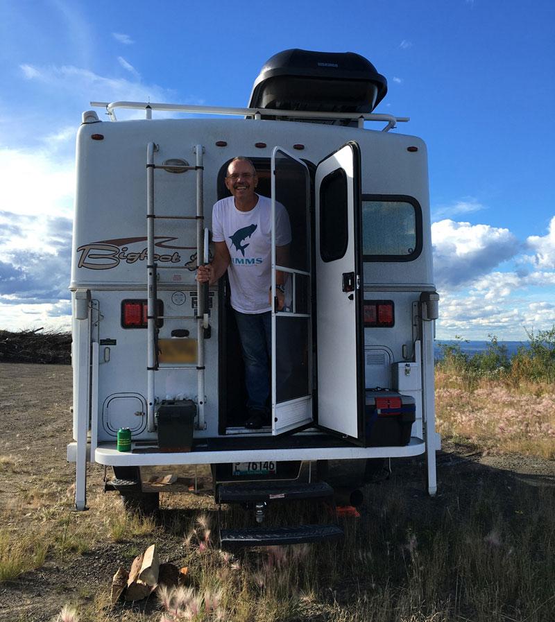 Yakima Rocket Box On Bigfoot Camper