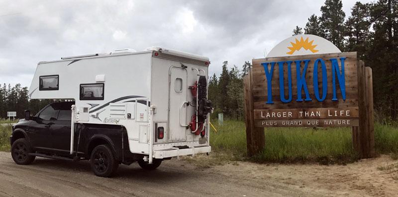 Yukon Larger Than Life Sign