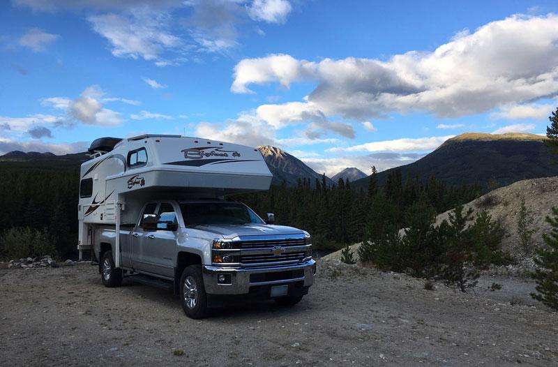 Yukon Boondocking Spot