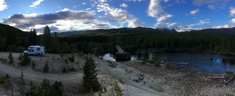 Yukon Dry Camping