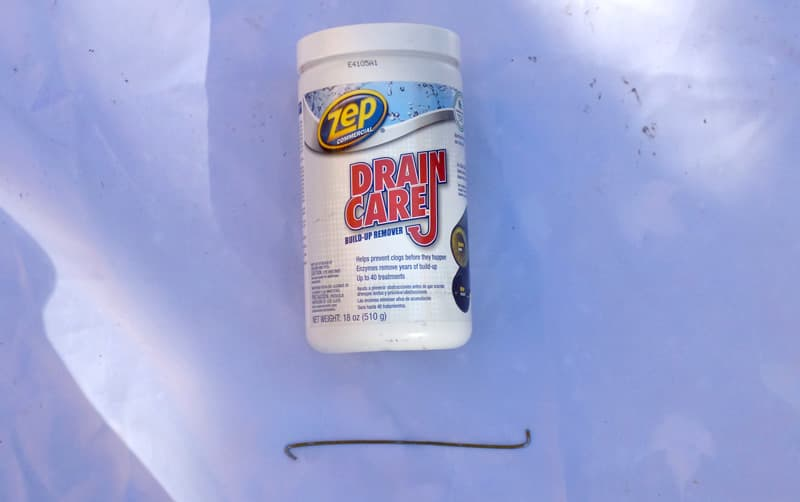 Zep drain care for RV showers