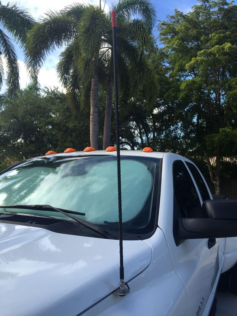 Firestik CB antenna truck campers
