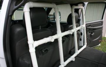 Back seat truck organization