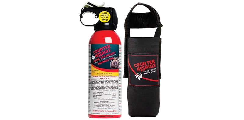 Take bear spray to Glacier National Park, Montana