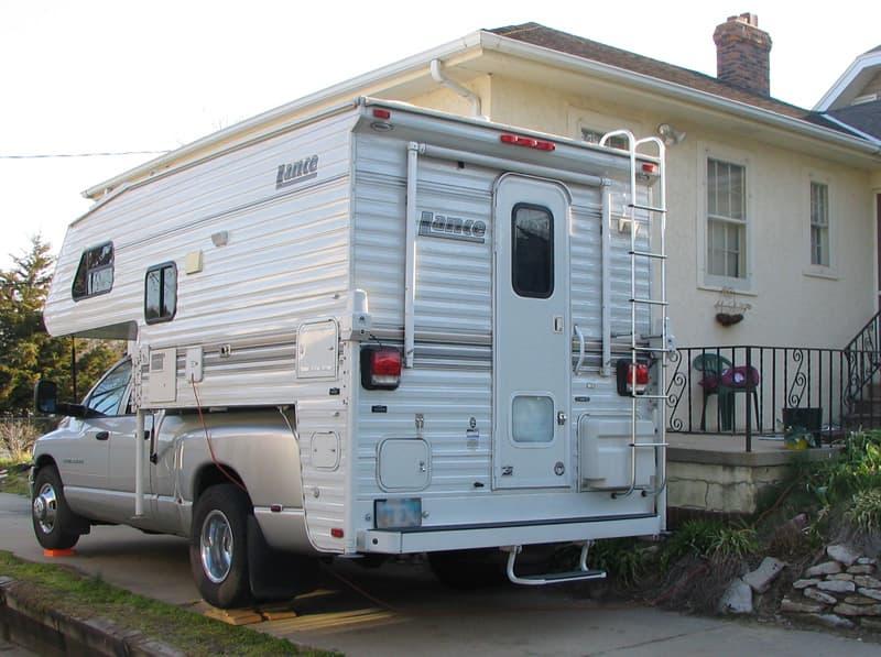 Brothers driveway Camping Omaha Nebraska