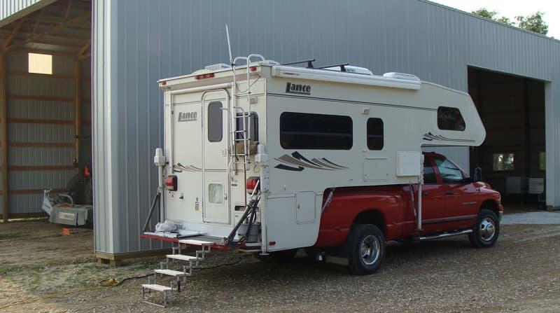 Camping at Farm In Iowa