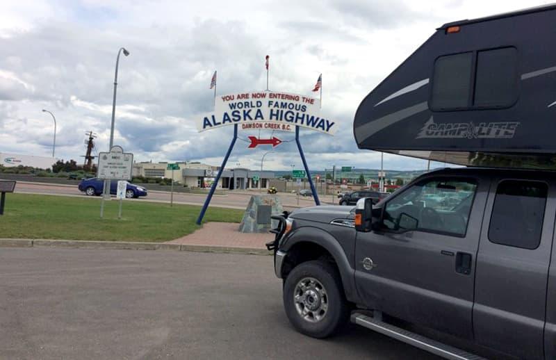 Alaska Highway starting point
