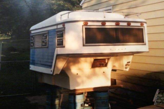 1970s Ranchero Camper, Owned by Ray Clark