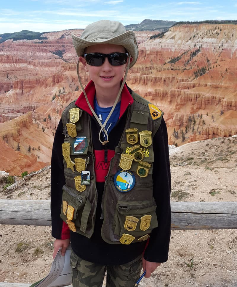 Collecting patches at the national parks