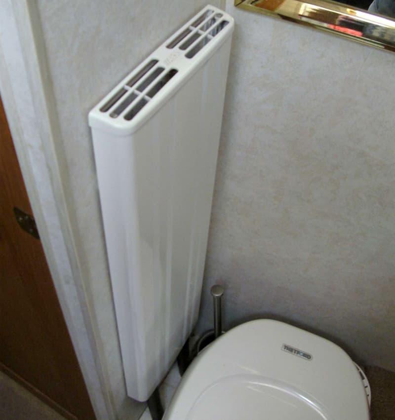 Convectors Alde bathroom