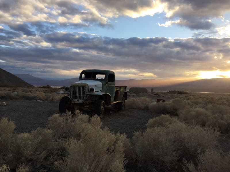 Death Valley truck