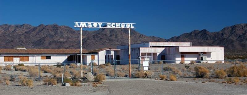 Deserted Amboy School
