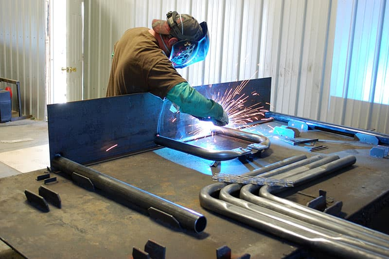 dueling welding tables