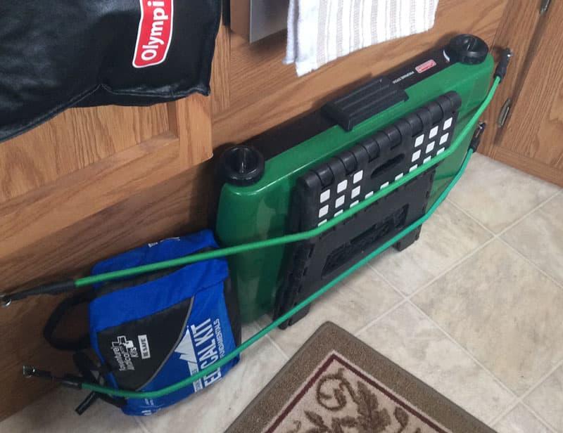 Adventure Medical Kit in truck camper