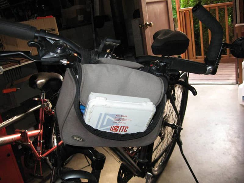 First Aid Kit for Bicycles