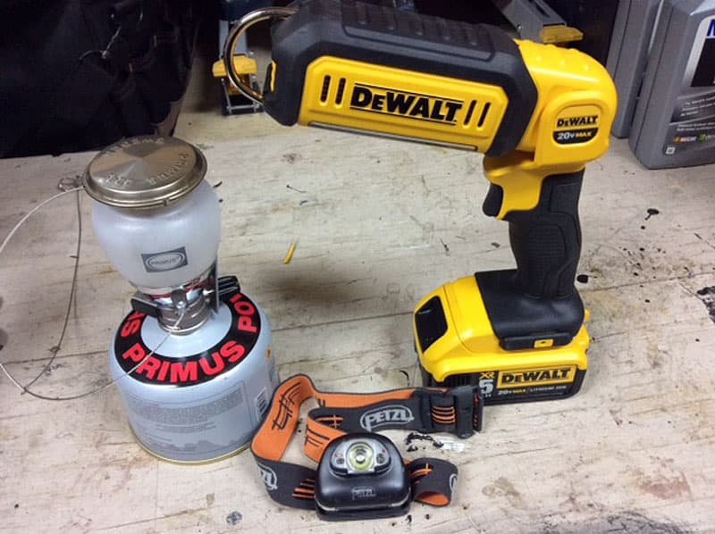 Dewalt LED light working light