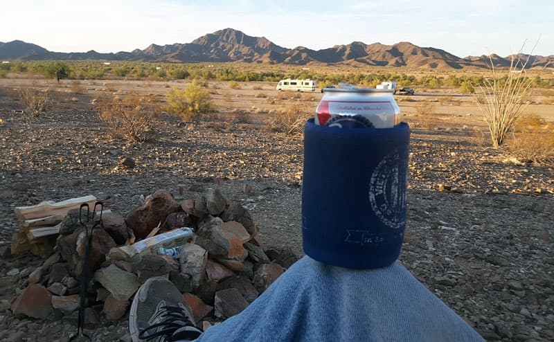 Chillin in the desert, Frank Poole