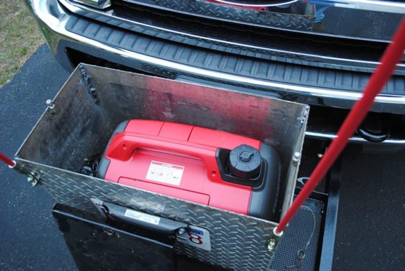 Generator in box