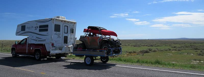 hitch-truck-camper-with-trailer