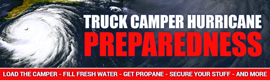 Hurricane Preparedness For Campers