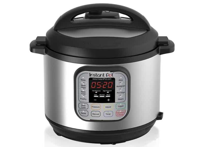 Insta pot pressure cooker in a camper