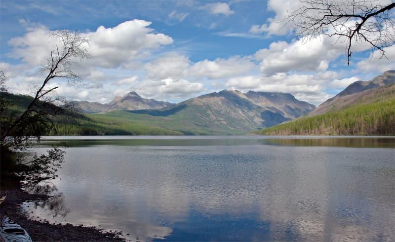 Lower Kintla Lake, Glacier-National-Park