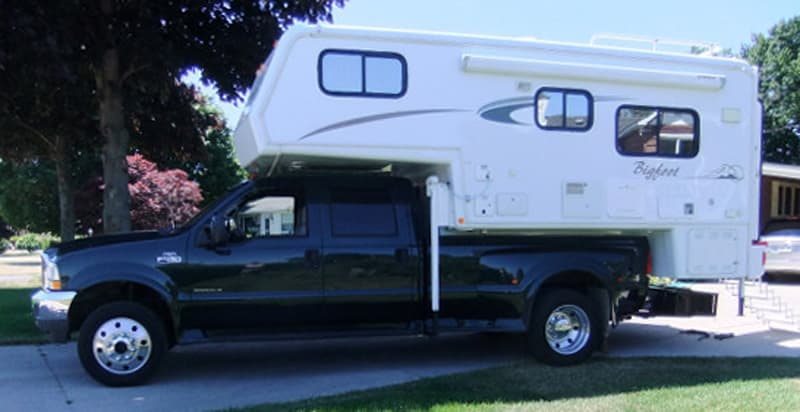 Modified F450 To Enable The Bigfoot Camper