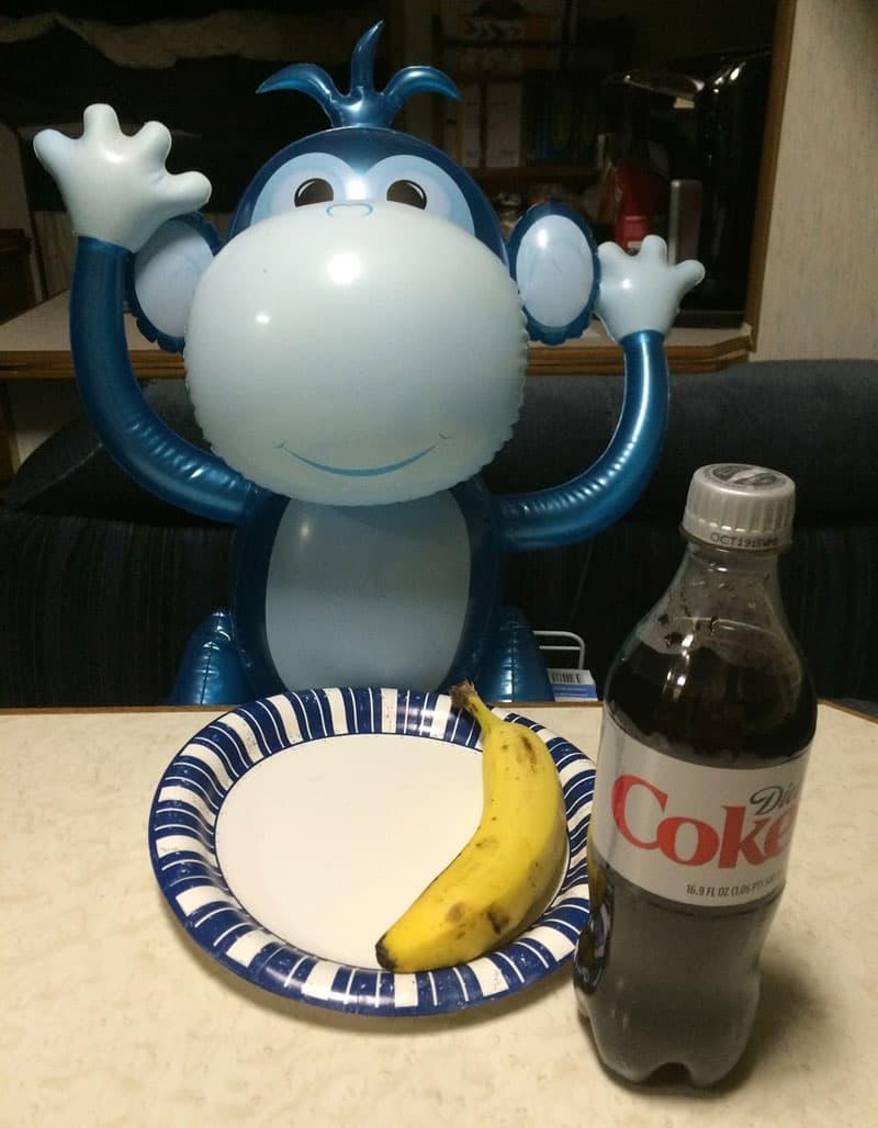 monkey banana camper