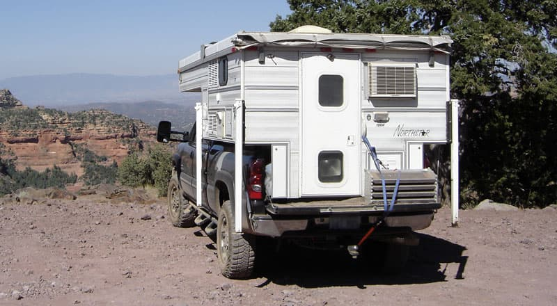 Northstar Camper, recovery gear while truck camping