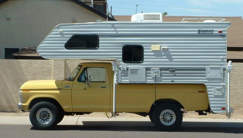 Original Lance camper