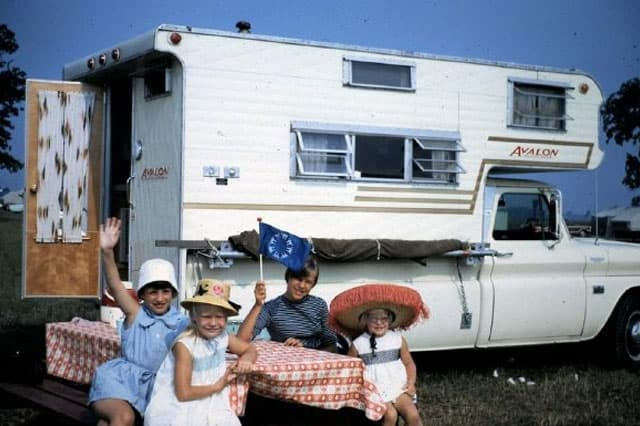 1967 Avalon Camper, Photo taken by Rich McGuire at Expo 67 in Montreal, Canada