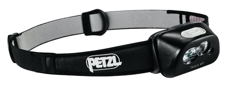 Petzl headlamp light