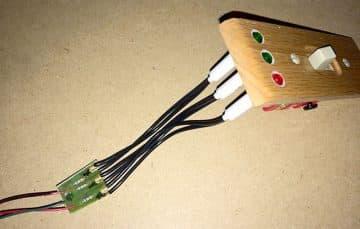 Polarity switch 20-amp wiring