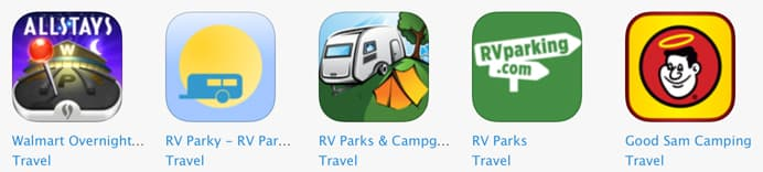 Top 12 camping apps