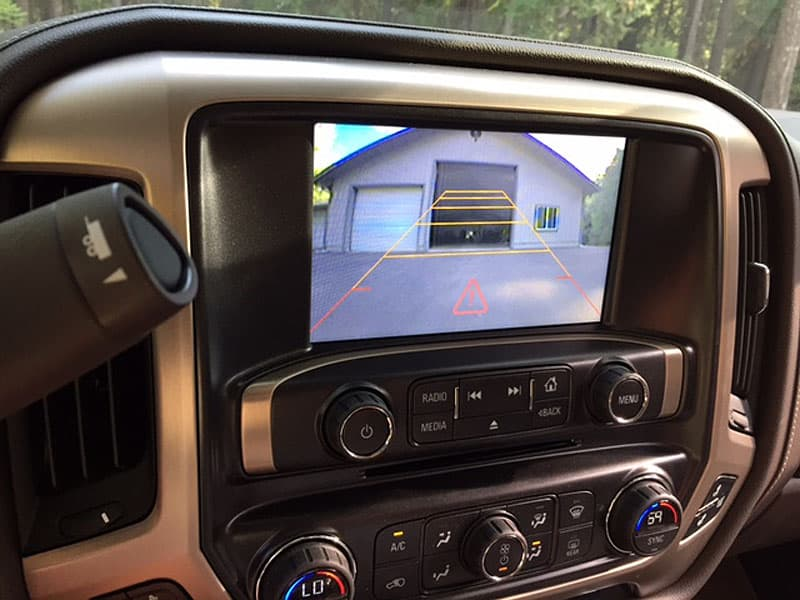 Truck monitor, rear view camera