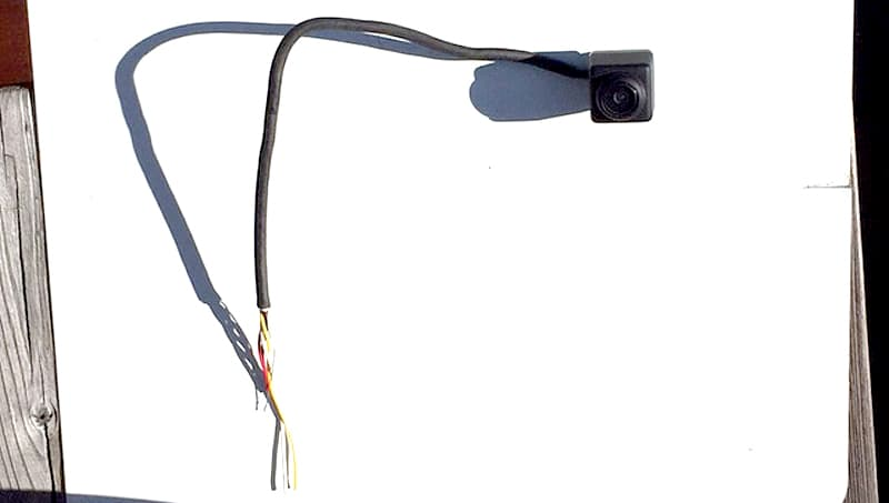 Wiring too short for backup camera replacement