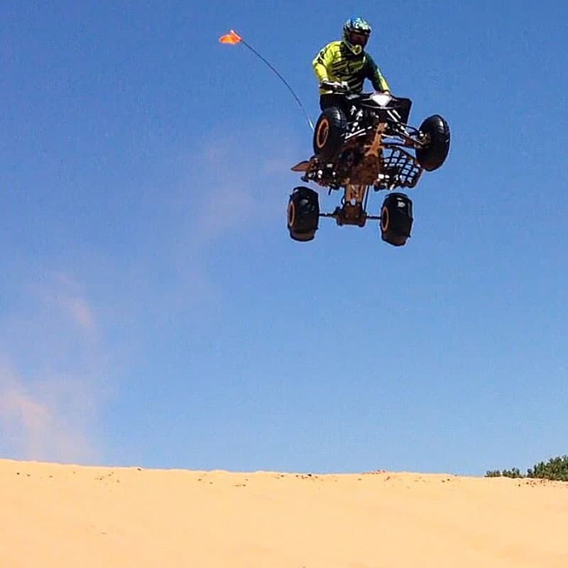 Riding the dunes in Oklahoma
