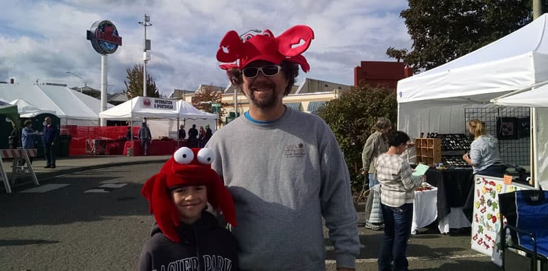 Crabs at Seafood Festival