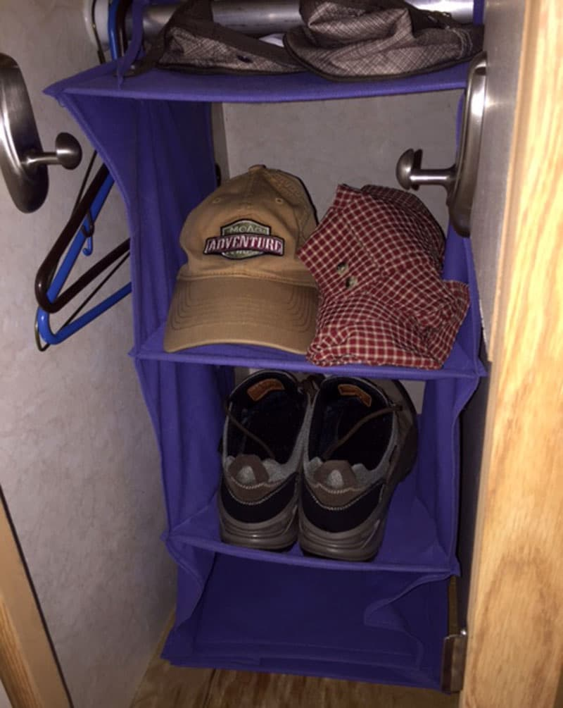 shoes-organize-in-truck-camper