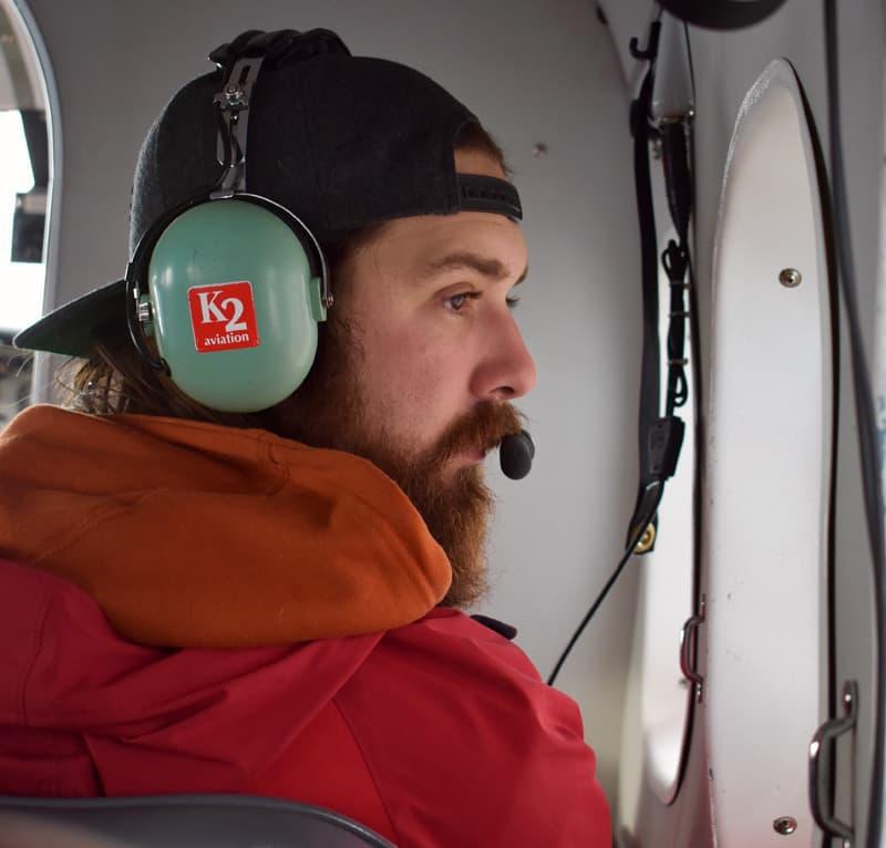 Small Airplane Around Denali National Park