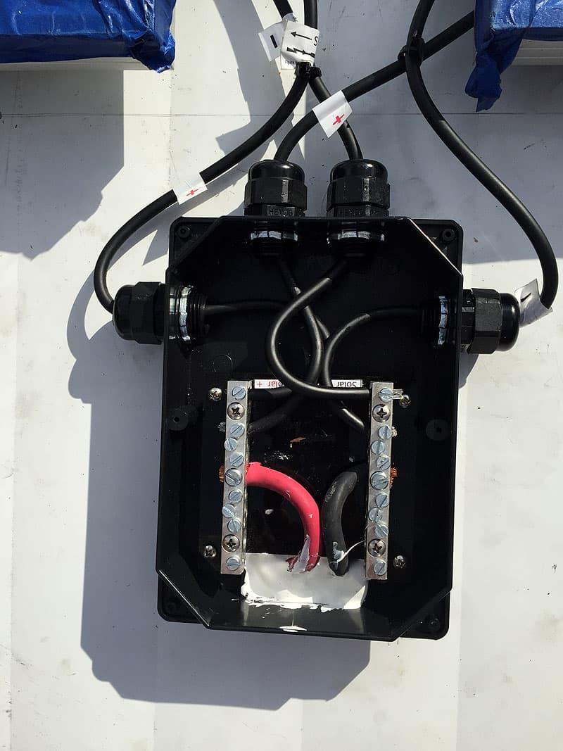 Junction Box Solar Panel