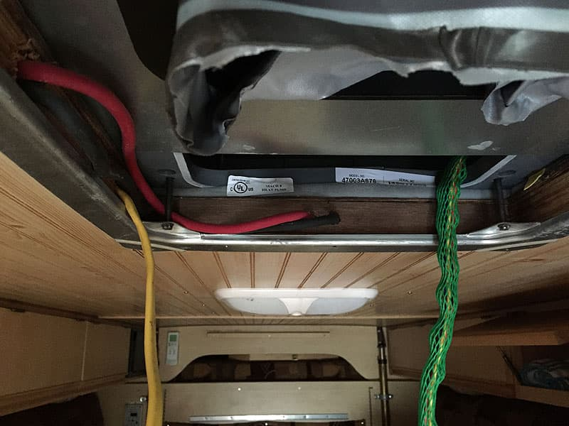 Solar Panel Install wiring
