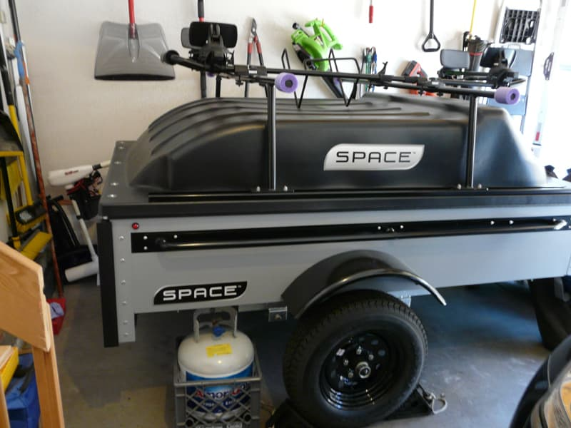 Space Trailer in garage