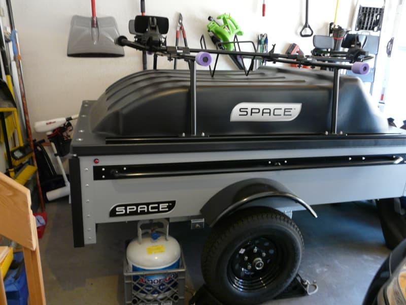 Space Trailer in garage