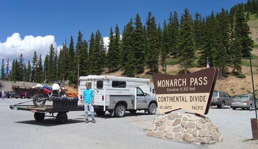 Patrick at Monarch Pass, Colorado