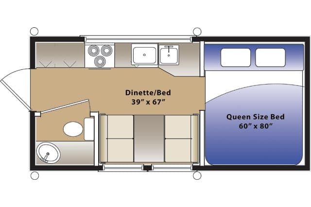 hallmark buyers guide pop up truck campers ahallmark floorplan